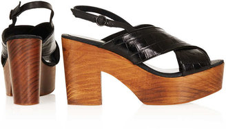 Topshop NEWTON Mid Heel Sling Back Shoes