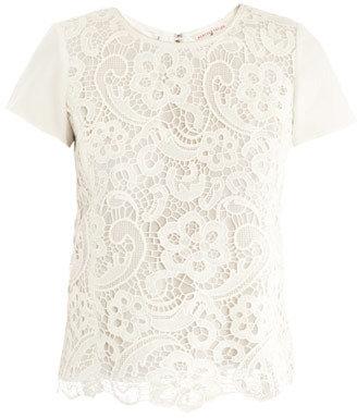 Rebecca Taylor Lace T-shirt