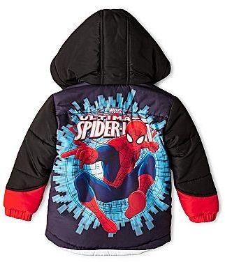Spiderman Ultimate Hooded Coat - Boys 2t-5t