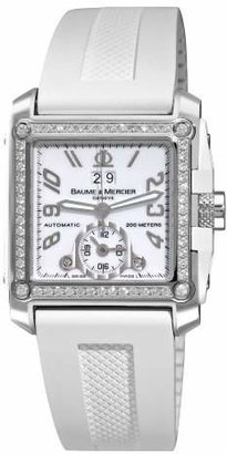 Baume & Mercier Men's A8842 Hampton Square Dial Diamond Watch