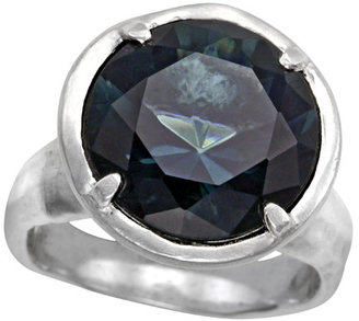 David Tishbi Round Gem Ring
