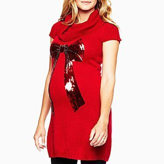 JCPenney Maternity Cowlneck Sweater Dress