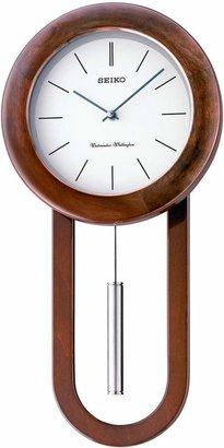 Seiko Contemporary Pendulum Wall Clock.