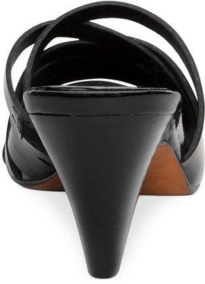 Donald J Pliner Shoes, Callie Mid Heel Slide Sandals