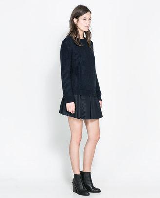 Zara Studio Box Pleat Skirt