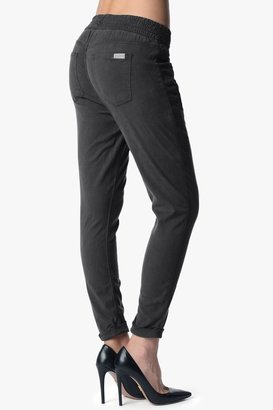 7 For All Mankind Soft Pant With Cuffed Hem In Grey Enzyme Twill