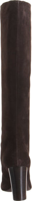Lanvin Suede Pull-On Knee Boot