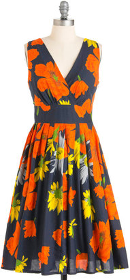 Glamour Power to You Dress in Garden