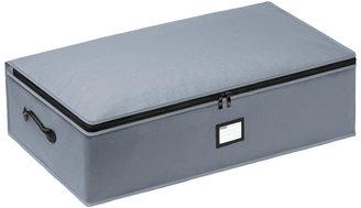 Container Store Underbed Storage Bag Grey
