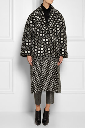 Haider Ackermann Oversized wool-blend tweed coat