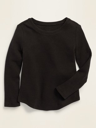 Old Navy Long-Sleeve Scoop-Neck Thermal Tee for Toddler Girls