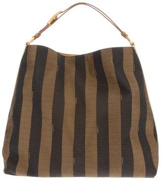 Fendi striped hobo