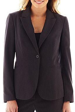 Liz Claiborne 1-Button Suit Jacket