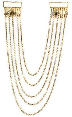 Belle Noel by Kim Kardashian Enamel Hairpiece in Gold and Ivory