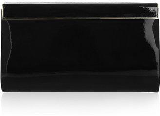 Jimmy Choo Cayla patent-leather clutch