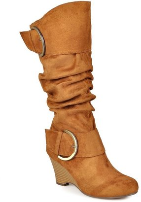 Journee Collection Irene Women's Wedge Boots