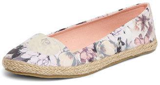 Dorothy Perkins Pink floral a-line espadrilles