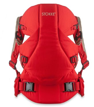 Stokke MyCarrier: 3-in-1 Multi-Use Baby Carrier in Red