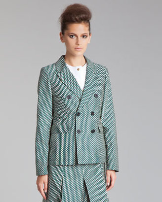 Marni Fitted Double-Breasted Jacket