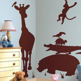 RoomMates Animal Silhouette Peel & Stick Decal