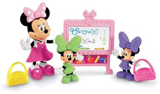 Fisher-Price Disney Mickey Mouse & Friends Minnie Mouse Bow-tique Minnie's School Day Set by