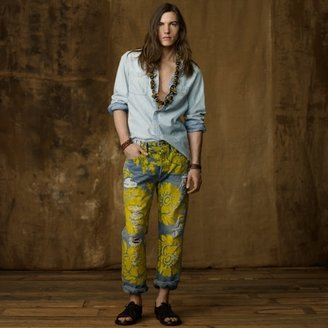 Denim & Supply Ralph Lauren Slouch-Fit Painted Jean