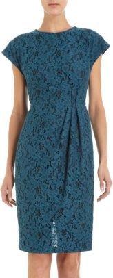 L'Wren Scott Floral Lace Dress