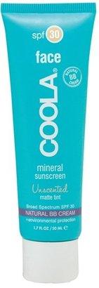 Coola Face Mineral Sunscreen Unscented Matte Tint Broad Spectrum Spf 30