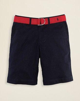 Ralph Lauren Boys' Roundhill Linen Shorts - Sizes 8-20