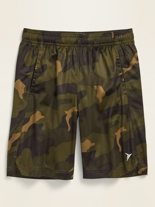 Old Navy Printed Go-Dry Mesh Performance Shorts for Boys