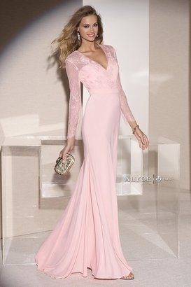 Alyce Paris Mother of the Bride - 29693 Dress in Ice Pink $398 thestylecure.com