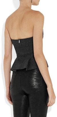 Isabel Marant Finless merino wool-felt bustier top