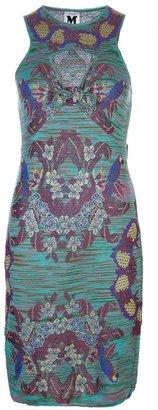M Missoni Parrot intarsia dress