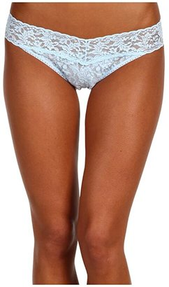 Hanky Panky I DO Original Rise Bridal Thong (Powder Blue) Women's Underwear