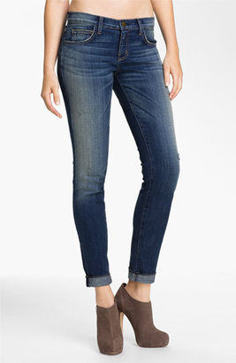 Current/Elliott 'The Rolled' Stretch Jeans (Wager)