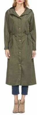 Vince Camuto Sunrise Bay Long Hooded Coat