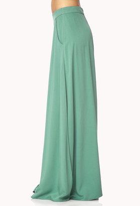 Forever 21 Pleated Maxi Skirt