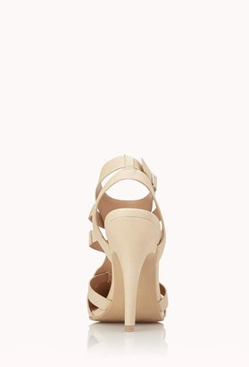 Forever 21 posh cutout pumps