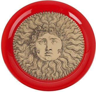 "Fornasetti ""Sole gold red"" tray"