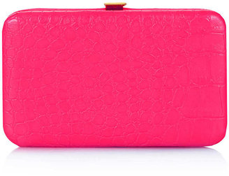 Topshop Fluro Croc Phone Purse