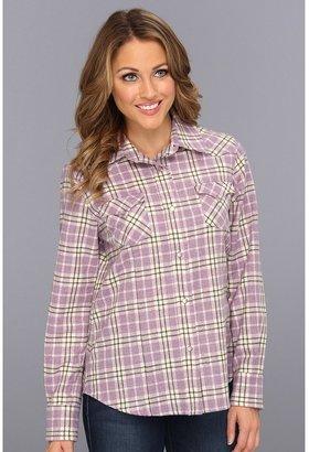 Pendleton Fitted Plaid Snap Shirt (Lupine Mix Plaid) - Apparel