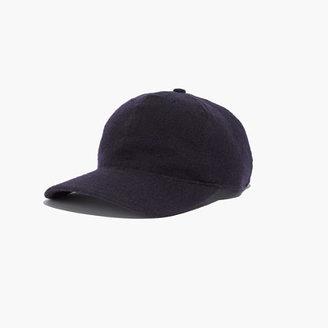 Madewell FairEnds&TM Flannel Baseball Hat