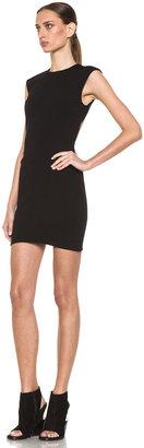 Kimberly Ovitz Bosha Viscose-Blend Dress in Black