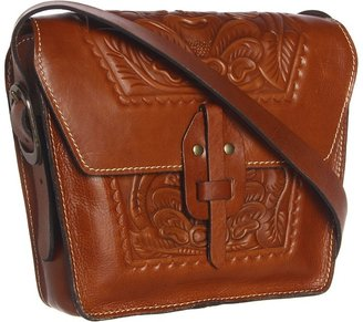 Patricia Nash - Tooled Marciana (Tan) - Bags and Luggage