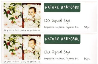 Green Baby Nature Babycare Diaper Disposal Bags - 100 ct