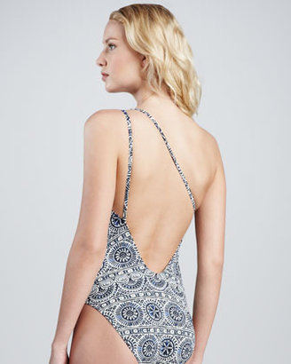 Tory Burch Ravello Printed One-Piece Swimsuit