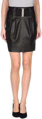 Balmain PIERRE Leather skirts