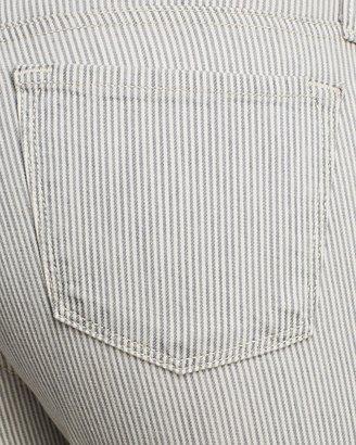 J Brand Jeans - Aoki Crop in Terrace Stripe