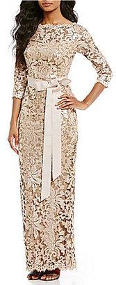 Tadashi Shoji Sequined Lace Gown $408 thestylecure.com