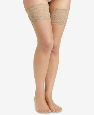 Berkshire Women Sheer Shimmer Thigh Highs Hosiery 1340